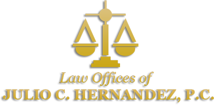 The Law Offices of Julio C. Hernandez, P.C., Footer Logo